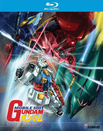 mobile suit gundam temporada 1 uno serie tv blu-ray