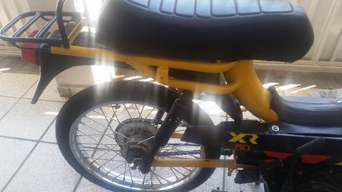 mobilete com motor de moto 115cc nf exc estado tudo novo