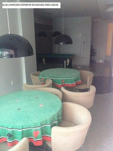 mobiliado, 01 suite + 02 demi, 100 metros da brasil, rua ret