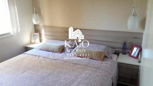 mobiliado condomínio flex guarulhos com 64m² suíte