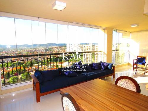 mobiliado condomínio solon guarulhos com 182m² andar alto