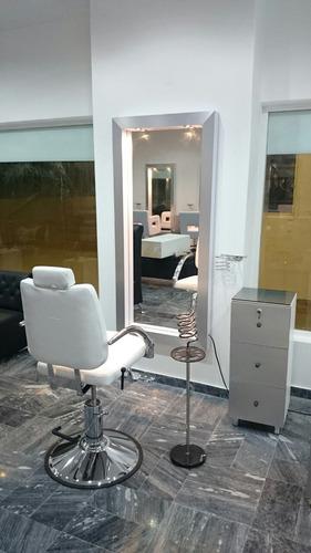 mobiliario de peluquería: sillas gran promoción