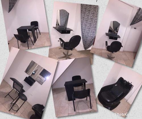 mobiliario de peluquería súper oferta