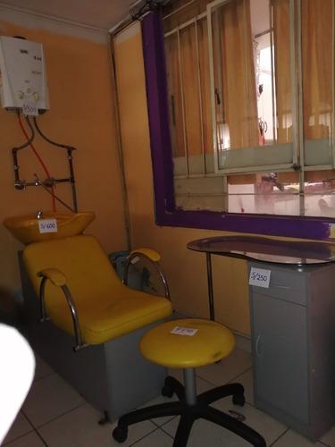 mobiliario de salón de belleza