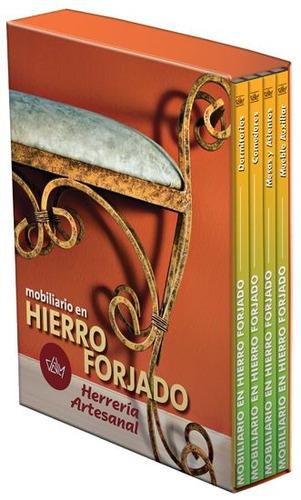 mobiliario en hierro forjado 4 vols ediciones daly rgl