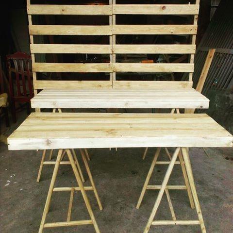 mobiliario  en pino candybar  mesa dulces, bodas, fiestas