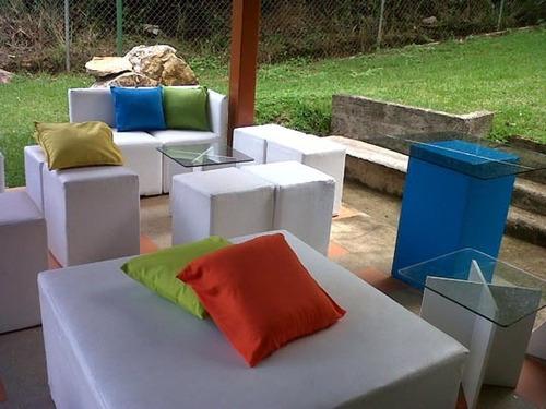 mobiliario lounge alquiler
