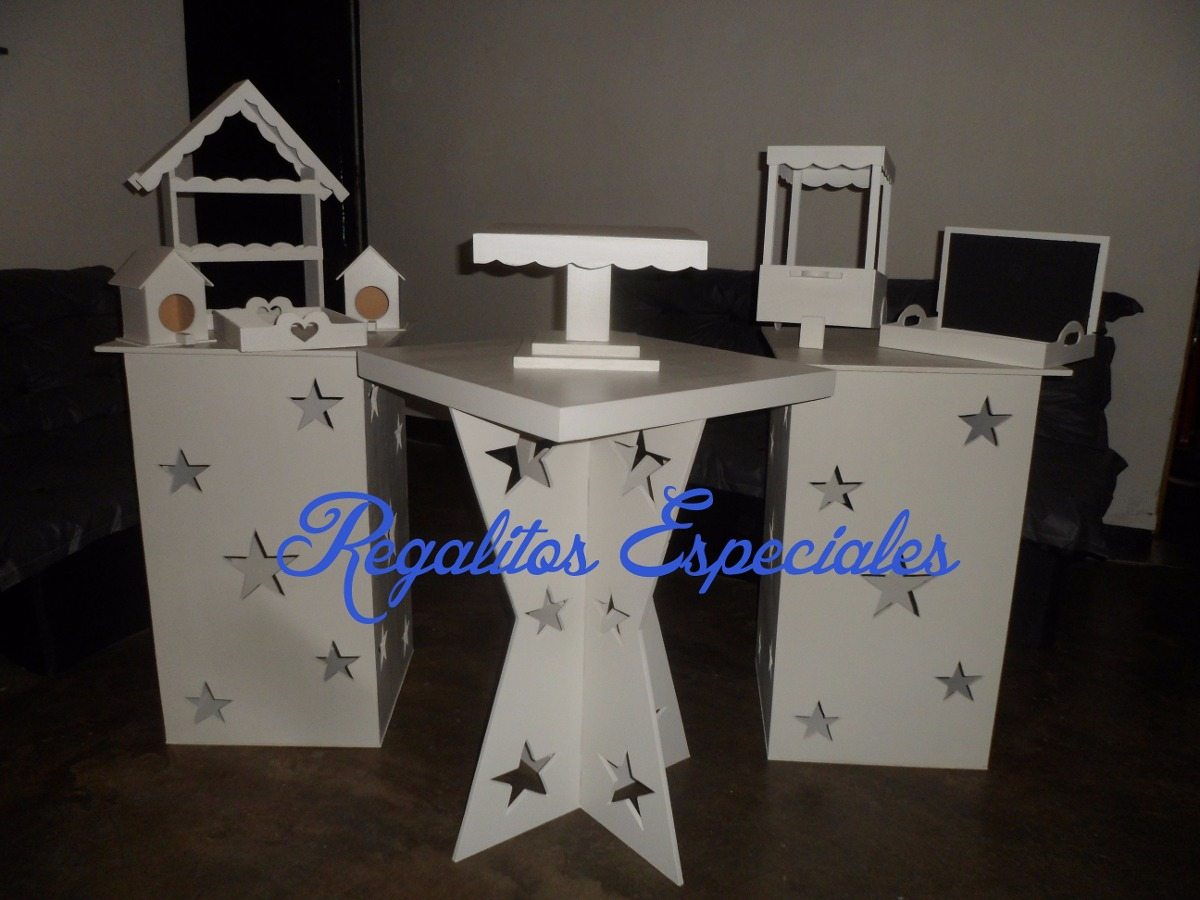 Mobiliario para candy bar completo bs en for Mobiliario para bar