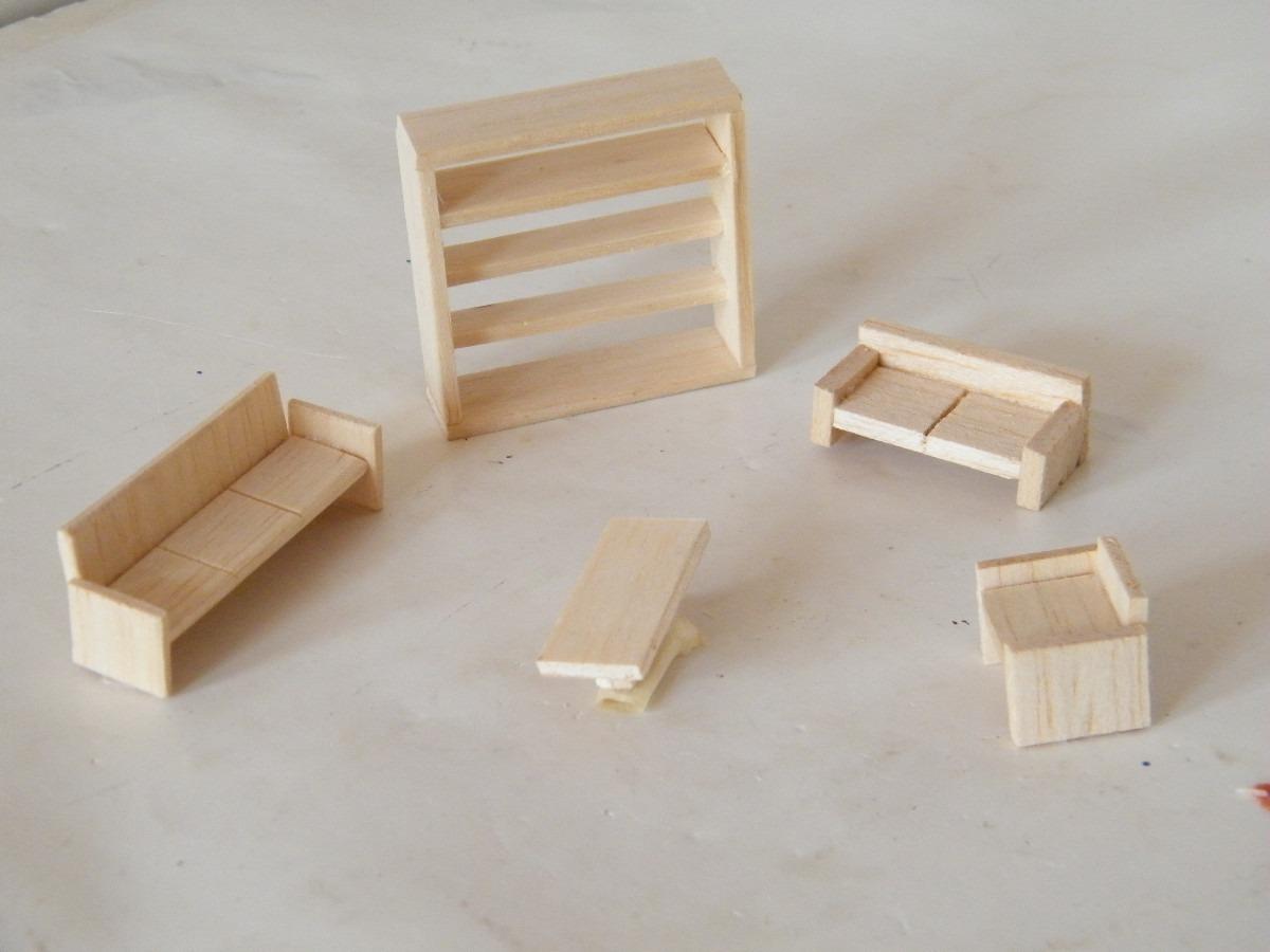 Mobiliario para maquetas por pedido en mercado libre for App para hacer muebles