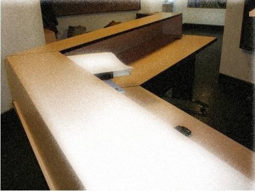 mobiliario para oficina (recepciones)