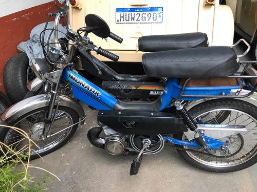 mobylette caloi xr 1987 garagem retrô