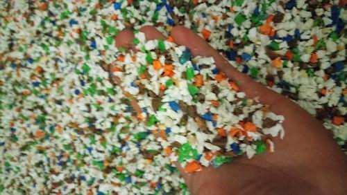 moca - triturado y molido de plastas y purgas plásticas