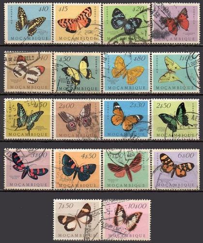 moçambique - borboletas - 1953 c3