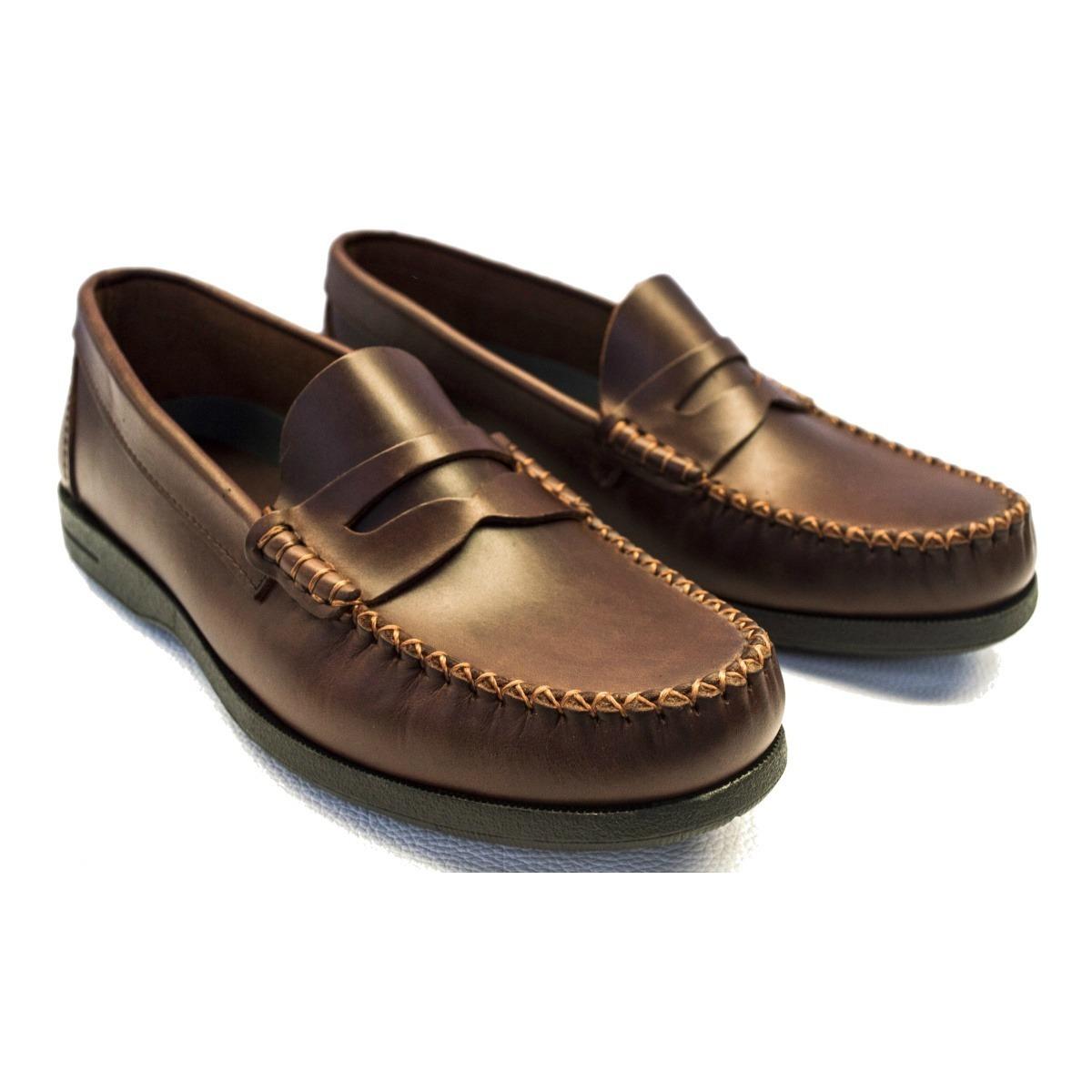 35701fdf mocasin clasico hombre cuero vacuno de vestir zapato calzado. Cargando zoom.