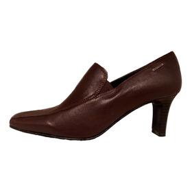 Mocasin Cuero Precio Off Lady Stork Ultimos Pares Shoestore