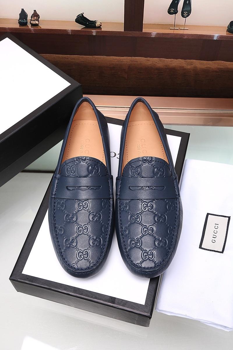 Mocasin Gucci Cuero Relieve Original -   1.198.000 en Mercado Libre b95f486d3ce