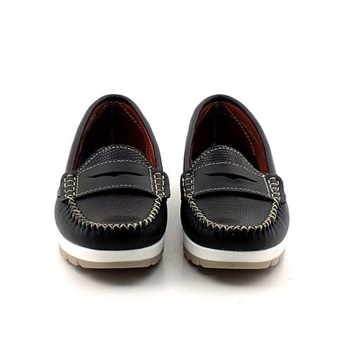 mocasin mujer cuero briganti zapato chatita - mcmo03587 pc