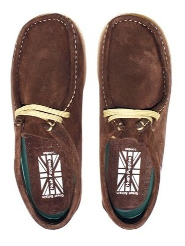 mocasin mujer hush puppies navajo chocolate chip