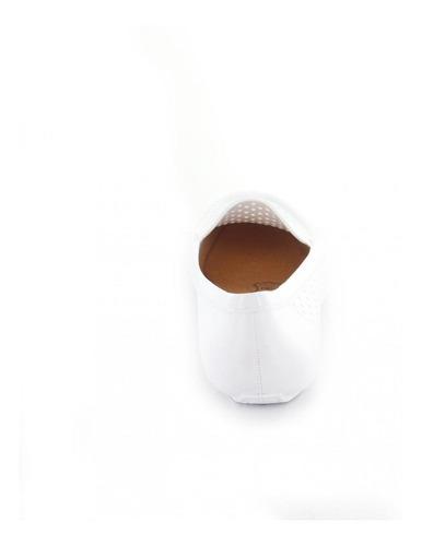 mocasin para mujer redberry novo-049130 color blanco