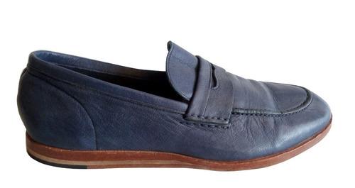 mocasin zapatos de cuero marca cole haan nro. 40