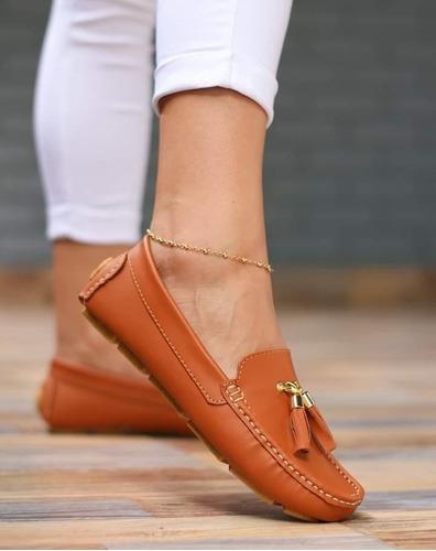 mocasine casual zapato dama moda colombiana