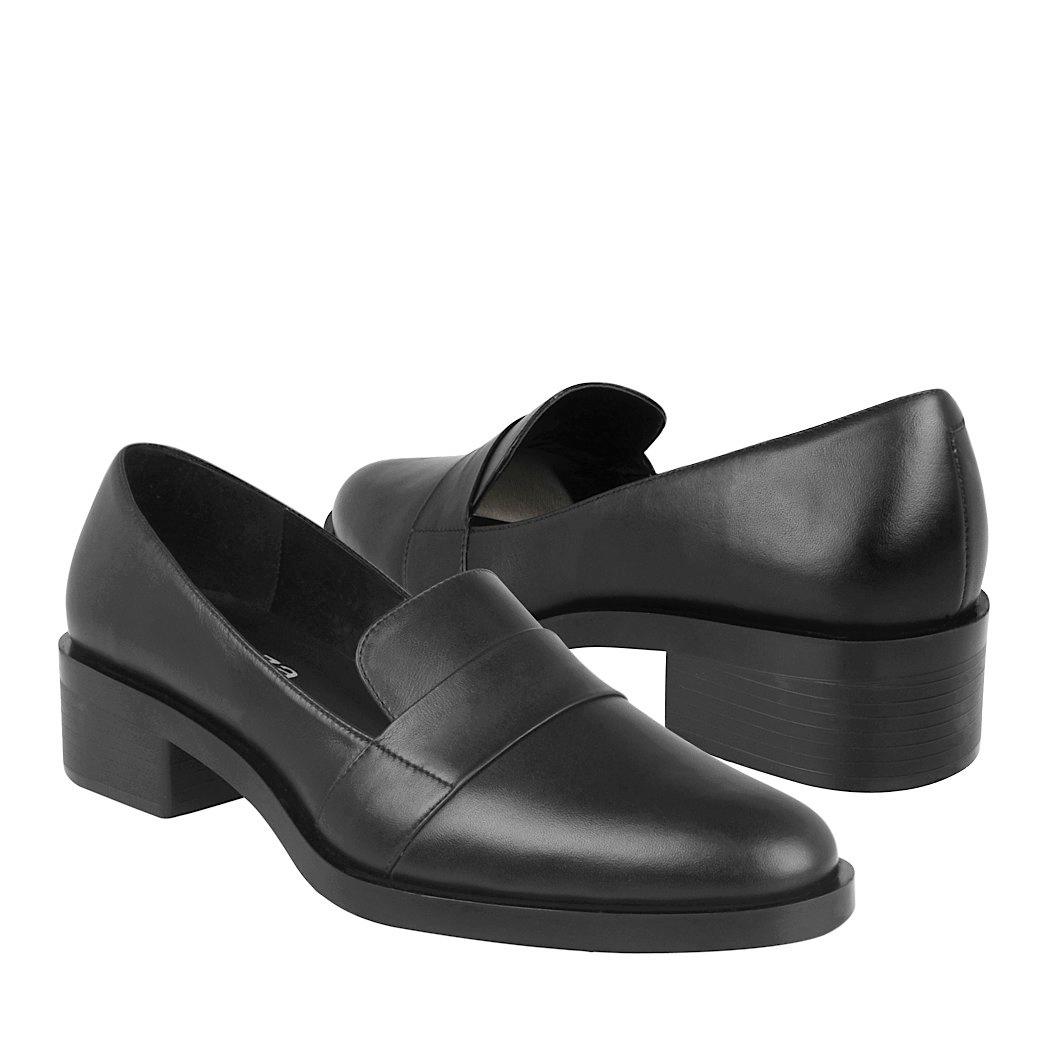nuevo estilo 13475 2991e Mocasines De Vestir Vicenza Para Dama Piel Negro 2502