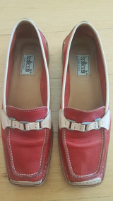 el más nuevo 58fb4 4cc54 Zapatos Italianos De Mujer Azul - Mocasines y Oxfords Rojo ...