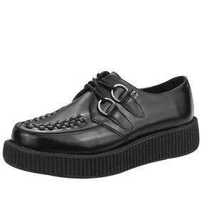 70283c3ab3a Zapatos Creepers Marca Demonia Creeper 406 De Piel - Zapatos en ...