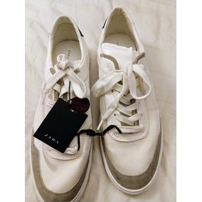7e41f5a6 Zapatos Nauticos Zara Blancos - Ropa, Bolsas y Calzado en Mercado ...
