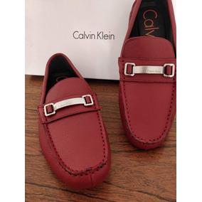 Calvin Mocasines Zapatos Boroni En Rojo México Libre Mercado Klein tQCdhsr