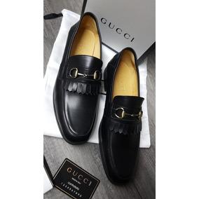 614632ee40e43 Zapatos De Vestir Gucci En Caja Mens Piel Envio Gratis - Zapatos en ...
