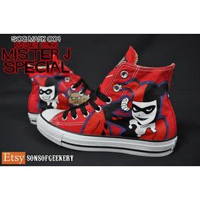 3505f74130d2 Zapatos Harley Quinn Suicide Squad en Mercado Libre México