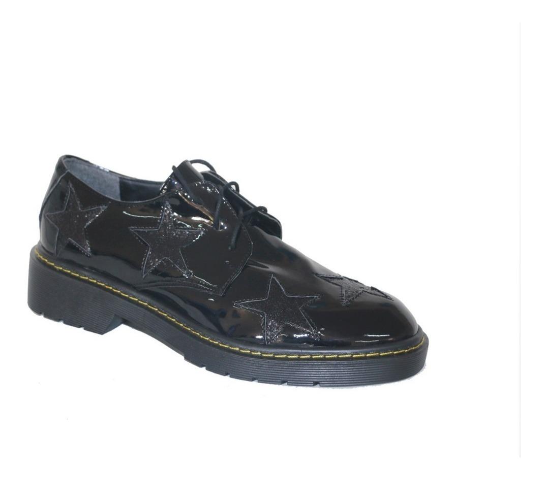 Boutique en ligne c9068 16636 Mocasines Negros Zapatos Charol   Invierno 2018   Nazaria