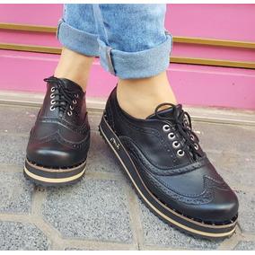 683a2e1a Zapatos De Charol Con Cordones Mujer - Zapatos en Mercado Libre ...