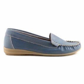 6329858be6ca8 Mocasines Mujer 2016 Talle 41 - Zapatos 41 Azul acero en Mercado ...