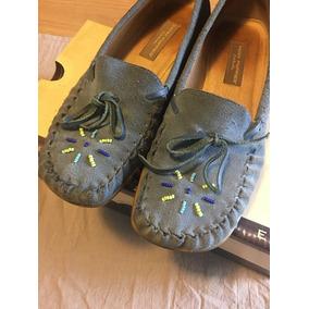 112ff908 36 Zapato Mocasin Acordonado De Gamuza Hush Puppies 35 - Zapatos en ...