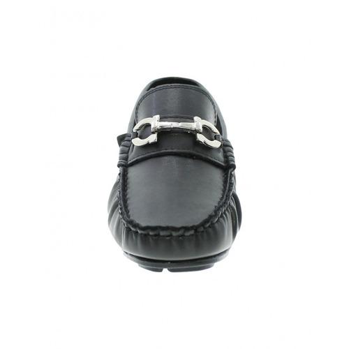 mocasines para cabllero comodos y elegantes napa negro marca
