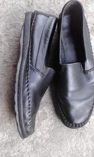 mocasines usados de cuero para caballero para reparar no,42