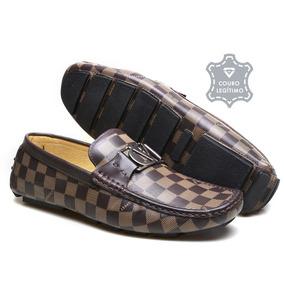 41ee308665 Sapato Mocassim Masculino Couro Calvest - Sapatos no Mercado Livre ...