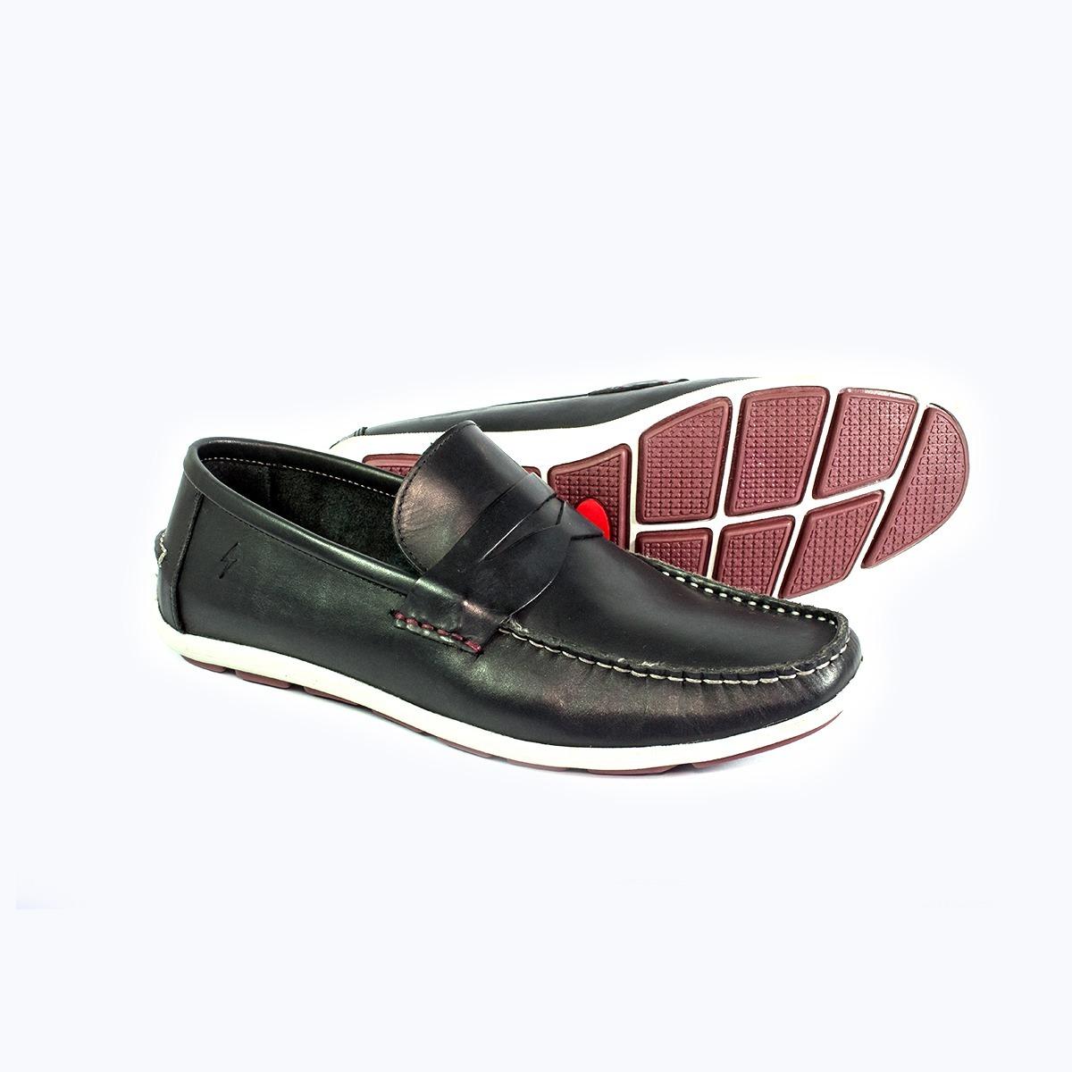 455425f9cd Mocassim Dockside Masculino Bolt Shoes - R  120