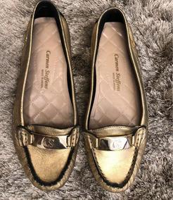 ed3fcfe4f Anabela Carmen Steffens - Sapatos para Feminino Dourado escuro no Mercado  Livre Brasil