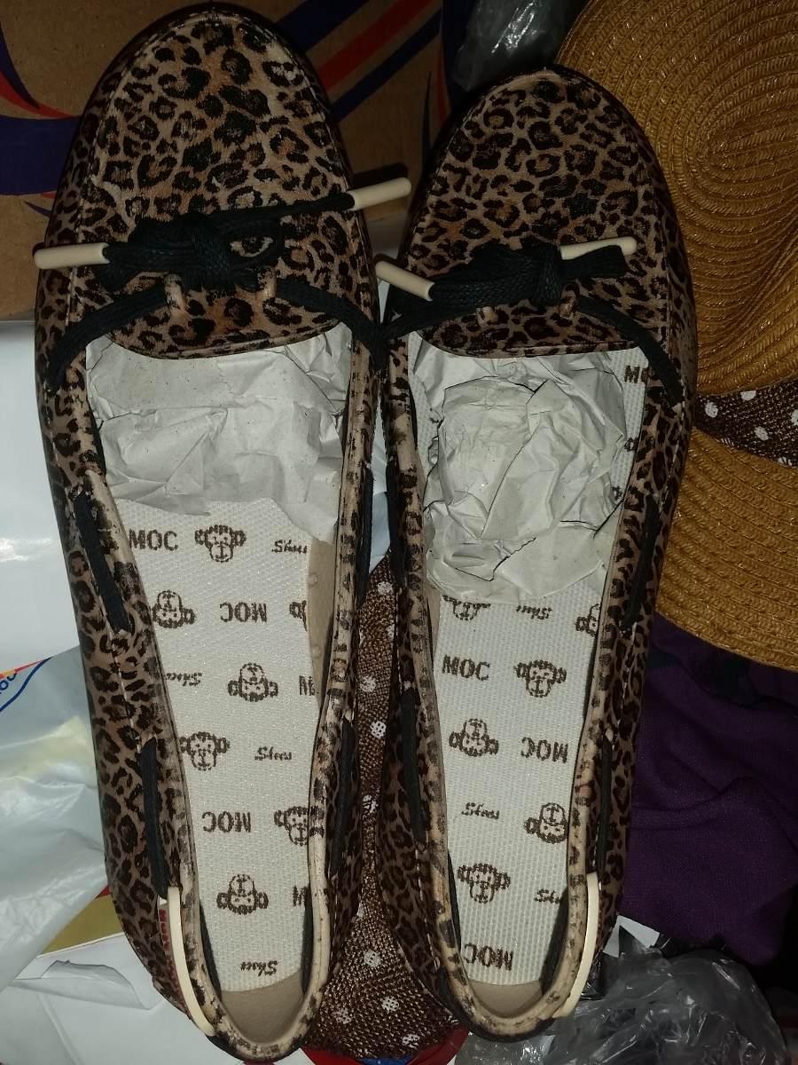 88e80c3201 mocassim estampado 2 - sapato feminino plástico - tamanho 40. Carregando  zoom.