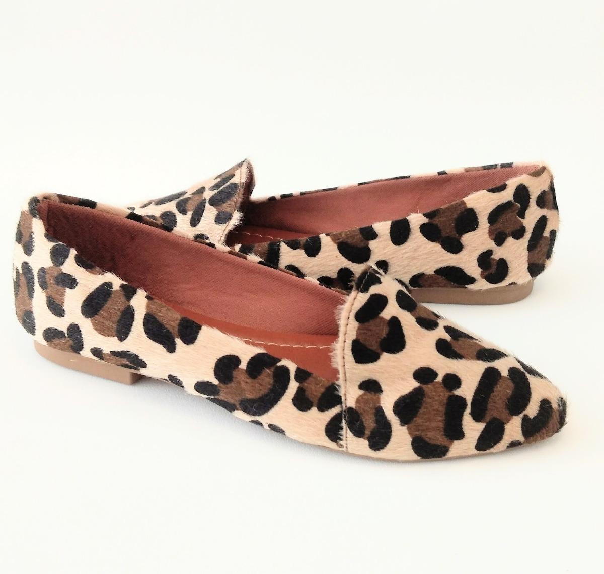 5beb6791f5 mocassim feminino onça sapatilha slipper social confortável. Carregando  zoom.