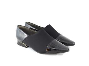 0b1d8f245 Sapato Militar Feminino Piccadilly Mocassins - Sapatos Preto com o ...