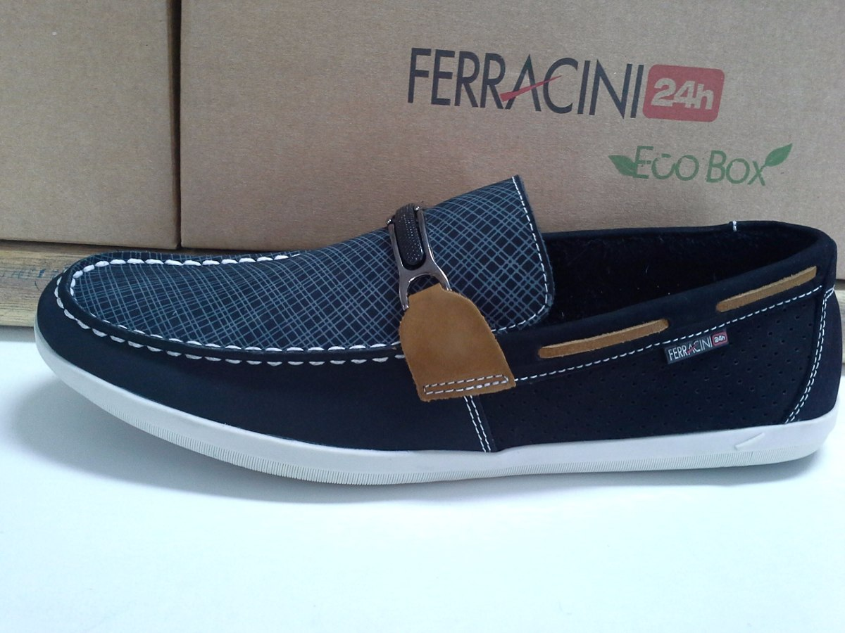 fa4490f9e2 Mocassim Ferracini 24 Horas Casual Canyon 1316c ( Original ) - R ...