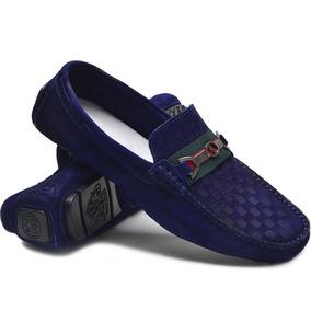 77c70780e8 Gucci Mocassim - Sapatos para Masculino Azul com o Melhores Preços no  Mercado Livre Brasil