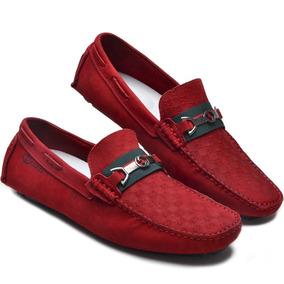 1479258b83 Sapatilha Masculina Vermelha - Sapatos para Masculino no Mercado Livre  Brasil