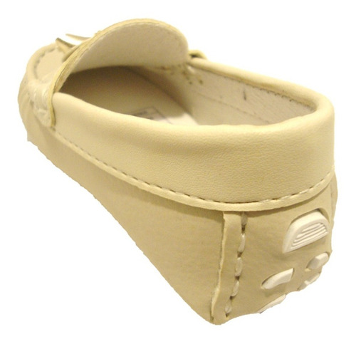 mocassim infantil feminino milisport 7032 marfim