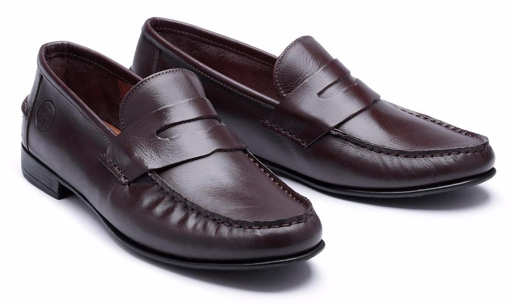 263dfc8cab mocassim masculino ragran sapato couro legitimo luxo. Carregando zoom.
