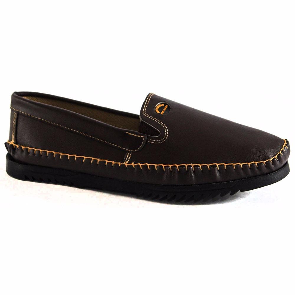 ff17a5f4c mocassim masculino sapatilha barato com couro sola borracha. Carregando  zoom.